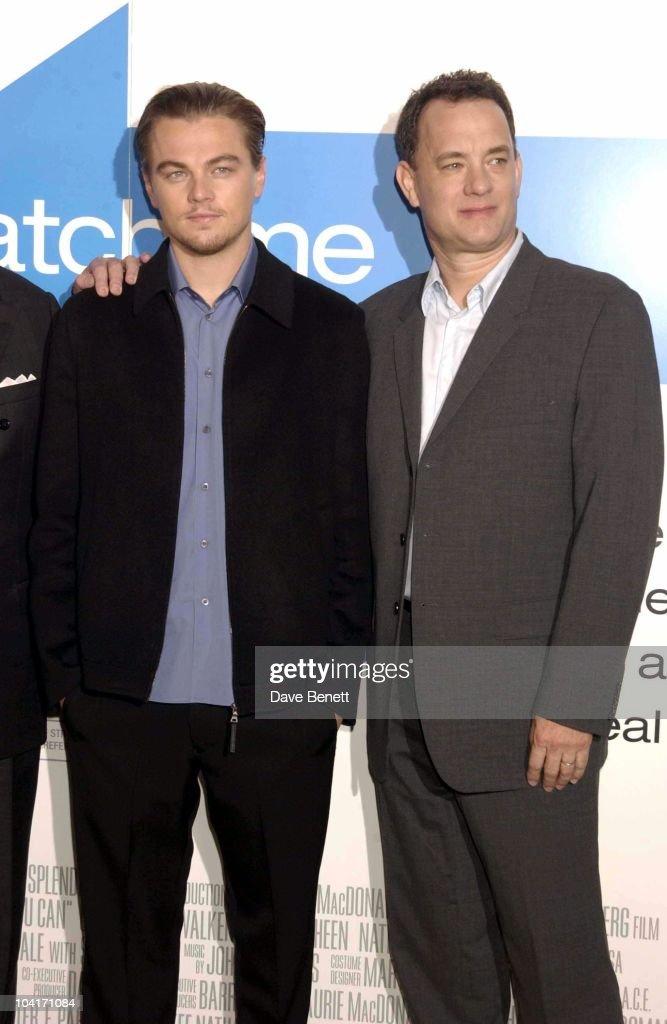 Leonardo Di Caprio & Tom Hanks, Press Conferenc For 'Catch Me If You Can', Ahead Of The London Premiere, Dorchester Hotel.