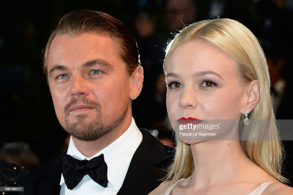 Leonardo DiCaprio and Carey Mulligan attend the Opening Ceremony and 'The Great Gatsby' Premiere during the 66th Annual Cannes Film Festival at the Theatre Lumiere on May 15, 2013 in Cannes, France.