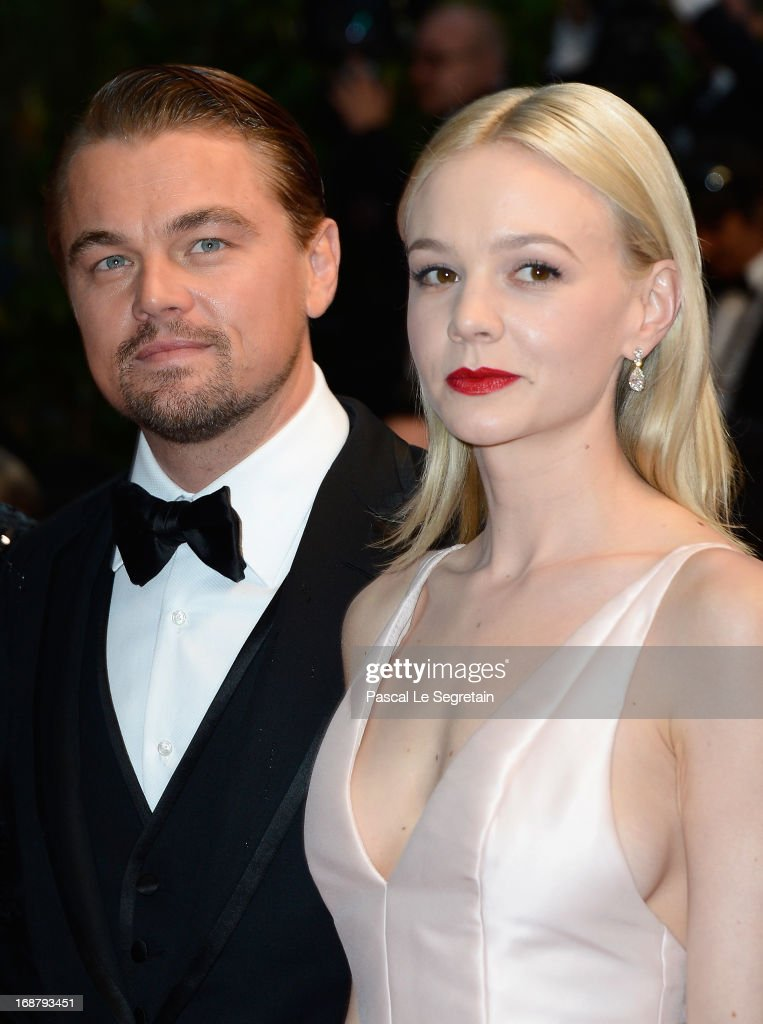 <a gi-track='captionPersonalityLinkClicked' href=/galleries/search?phrase=Leonardo+DiCaprio&family=editorial&specificpeople=201635 ng-click='$event.stopPropagation()'>Leonardo DiCaprio</a> and <a gi-track='captionPersonalityLinkClicked' href=/galleries/search?phrase=Carey+Mulligan&family=editorial&specificpeople=2262681 ng-click='$event.stopPropagation()'>Carey Mulligan</a> attend the Opening Ceremony and 'The Great Gatsby' Premiere during the 66th Annual Cannes Film Festival at the Theatre Lumiere on May 15, 2013 in Cannes, France.