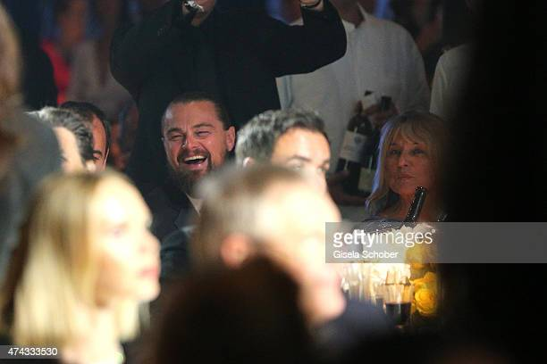 Leonardo DiCaprio and his mother Irmelin IndenbirkenDiCaprio during amfAR's 22nd Cinema Against AIDS Gala Presented By Bold Films And Harry Winston...
