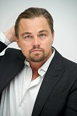 Leonardo DiCaprio at 'The Revenant' Press Conference at The Four Seasons Hotel on November 23 2015 in Beverly Hills California