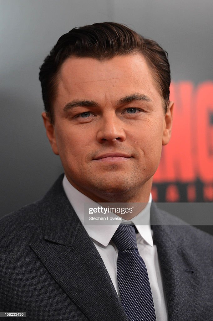 <a gi-track='captionPersonalityLinkClicked' href=/galleries/search?phrase=Leonardo+DiCaprio&family=editorial&specificpeople=201635 ng-click='$event.stopPropagation()'>Leonardo DiCaprio</a> attends a screening of 'Django Unchained' hosted by The Weinstein Company with The Hollywood Reporter, Samsung Galaxy and The Cinema Society at Ziegfeld Theater on December 11, 2012 in New York City.