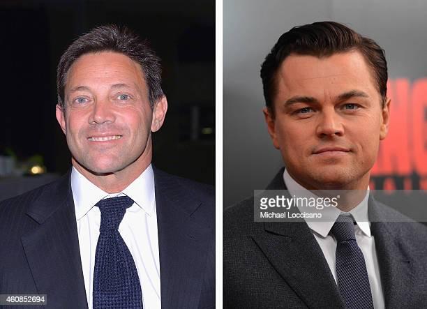 In this composite image a comparison has been made between Jordan Belfort and actor Leonardo DiCaprio Actor Leonardo DiCaprio will reportedly play...