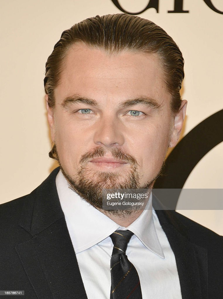 Leonardo DiCaprio attends Armani - One Night Only New York at SuperPier on October 24, 2013 in New York City.