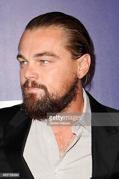 Leonardo DiCaprio attends the 7th annual Oceana's SeaChange summer party on August 16 2014 in Laguna Beach California