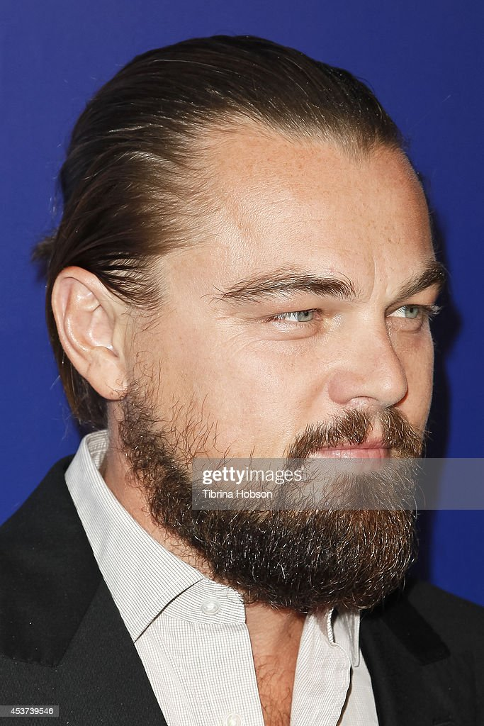 Leonardo DiCaprio attends the 7th annual Oceana's SeaChange summer party on August 16 2014 in Laguna Beach California