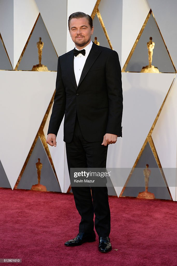 <a gi-track='captionPersonalityLinkClicked' href=/galleries/search?phrase=Leonardo+DiCaprio&family=editorial&specificpeople=201635 ng-click='$event.stopPropagation()'>Leonardo DiCaprio</a> attends the 88th Annual Academy Awards at Hollywood & Highland Center on February 28, 2016 in Hollywood, California.