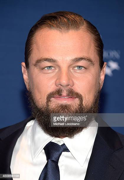 Leonardo Dicaprio attends the 8th Annual Clinton Global Citizen Awards at Sheraton Times Square on September 21 2014 in New York City