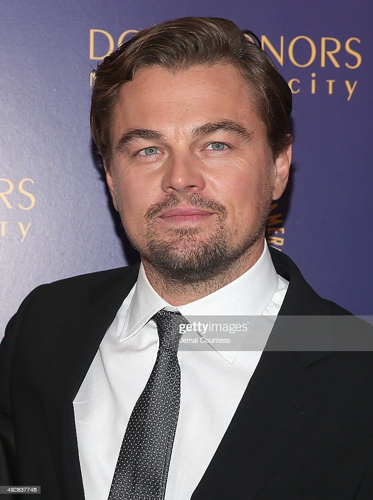 Leonardo DiCaprio attends the DGA Honors 2015 Gala on October 15, 2015 in New York City.