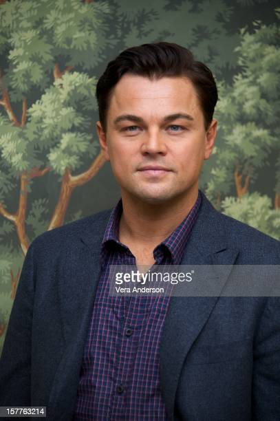 Leonardo DiCaprio attends the 'Django Unchained' press conference at The London Hotel on December 5 2012 in New York City