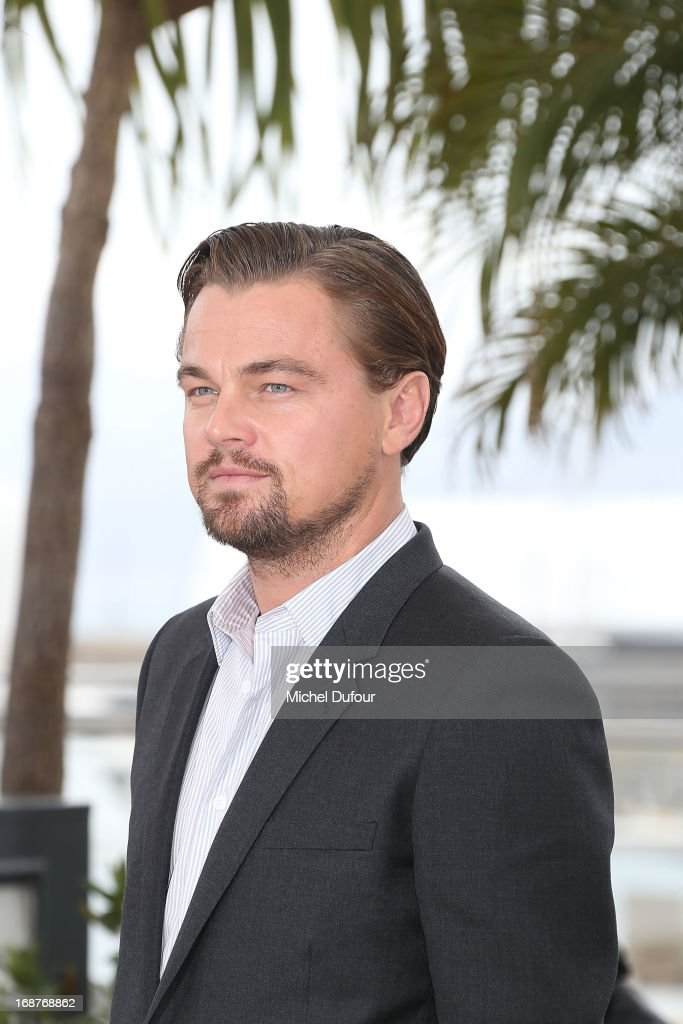 <a gi-track='captionPersonalityLinkClicked' href=/galleries/search?phrase=Leonardo+DiCaprio&family=editorial&specificpeople=201635 ng-click='$event.stopPropagation()'>Leonardo DiCaprio</a> attends 'The Great Gatsby' photocall on May 15, 2013 in Cannes, France.