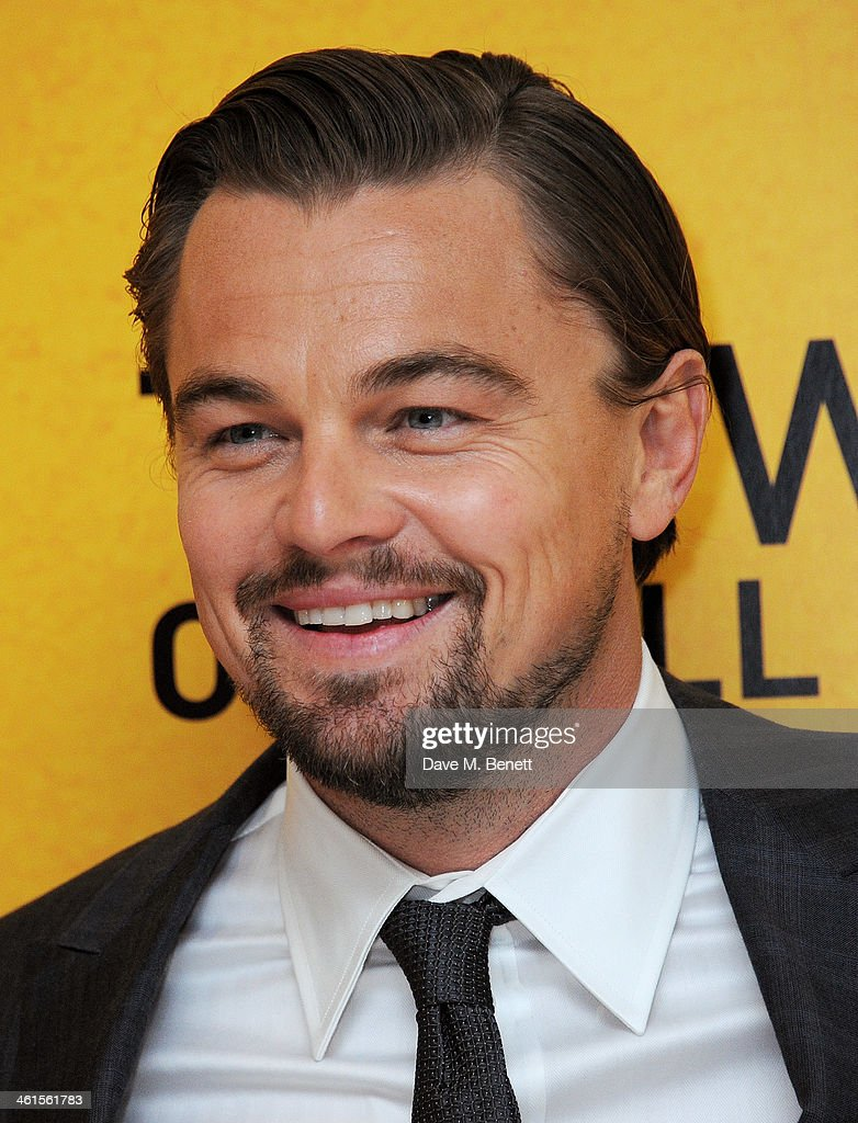 <a gi-track='captionPersonalityLinkClicked' href=/galleries/search?phrase=Leonardo+DiCaprio&family=editorial&specificpeople=201635 ng-click='$event.stopPropagation()'>Leonardo DiCaprio</a> attends the UK Premiere of 'The Wolf Of Wall Street' at Odeon Leicester Square on January 9, 2014 in London, England.
