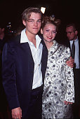 Leonardo DiCaprio Claire Danes at the Mann Chinese Theatre in Los Angeles California