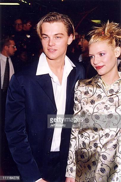 Leonardo DiCaprio Claire Danes during 'Romeo Juliet' Premiere in Los Angeles California United States