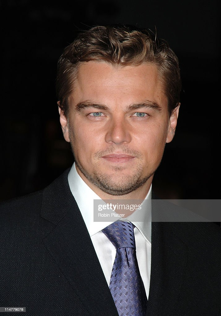 Leonardo DiCaprio during 'The Departed' New York City Premiere at Ziegfeld Theater in New York City, New York, United States.