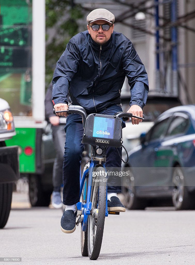 Candids (2016) Leonardo-dicaprio-seen-riding-bicycle-on-may-10-2016-in-new-york-city-picture-id530179330