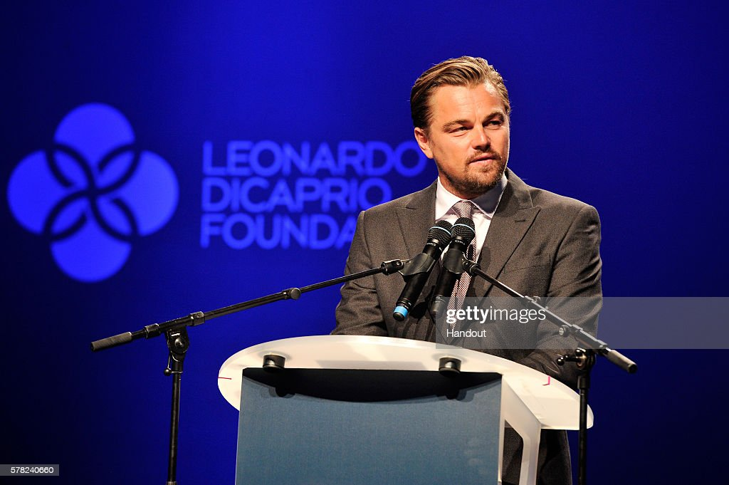 leonardo-dicaprio-speaks-on-stage-at-the-dinner-auction-during-the-picture-id578240660