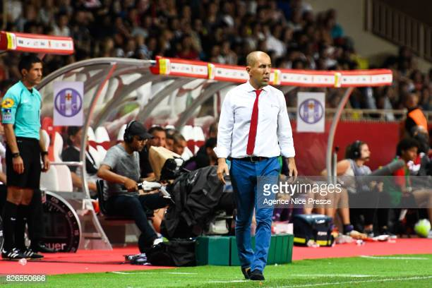 Leonardo Jardim head coach of Monaco during the Ligue 1 match between AS Monaco and Toulouse at Stade Louis II on August 4 2017 in Monaco