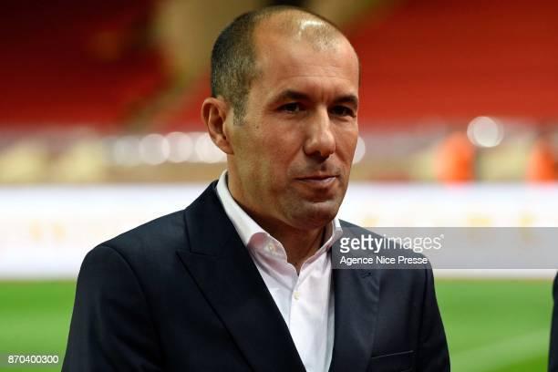 Leonardo Jardim head coach of Monaco during the Ligue 1 match between AS Monaco and EA Guingamp at Stade Louis II on November 4 2017 in Monaco
