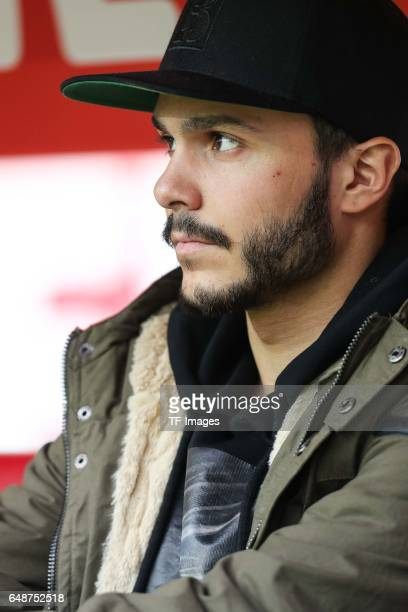 Leonardo Jesus Bittencourt of Cologne looks on during the Bundesliga match between 1 FC Koeln and Bayern Muenchen at RheinEnergieStadion on March 4...