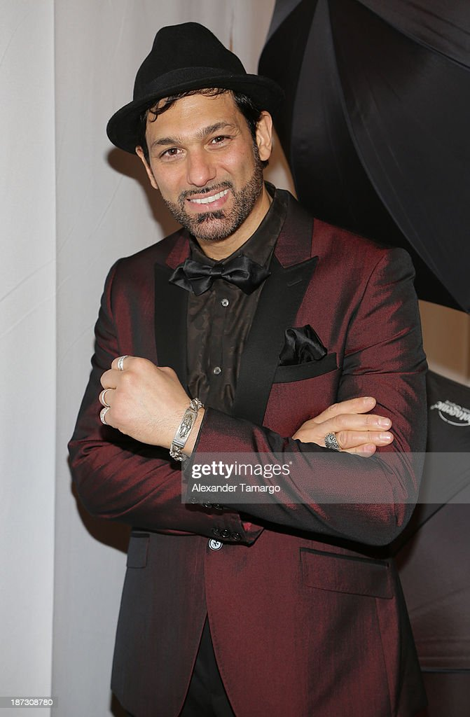 Leonardo Rocco attends Miami Hair Beauty and Fashion 2013 by Rocco Donna on November 7, 2013 in Miami, Florida.