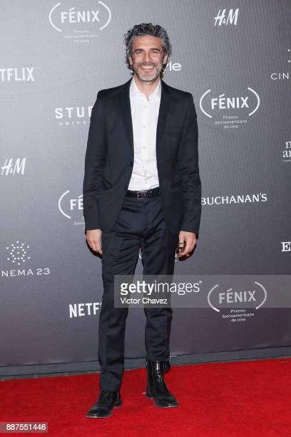 Leonardo Sbaraglia attends the Premio Iberoamericano De Cine Fenix 2017 at Teatro de La Ciudad on December 6 2017 in Mexico City Mexico