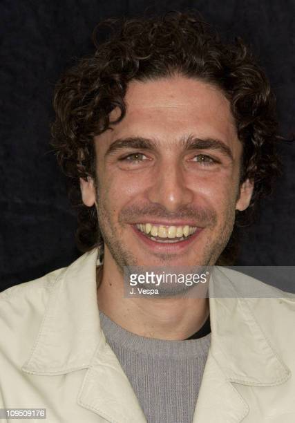 Leonardo Sbaraglia during Cannes 2002 'Intacto' Portraits at The American Pavillion in Cannes France