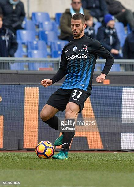 Leonardo Spinazzola during the Italian Serie A football match between SS Lazio and AC Atalanta at the Olympic Stadium in Rome on janaury 15 2017