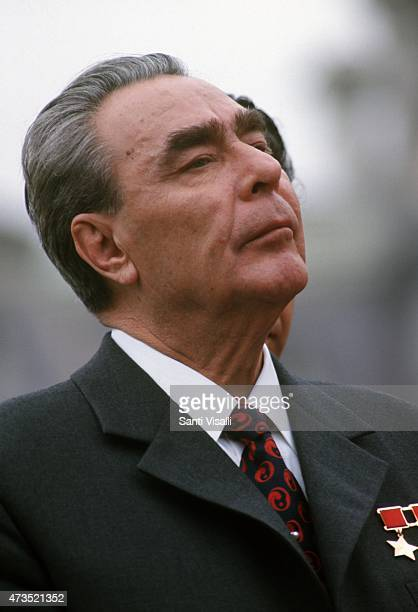 Leonid Brezhnev visiting Washington DC on June 21 1973 in Washington DC