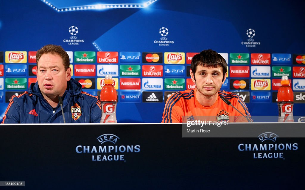 CSKA Moscow  - Training & Press Conference