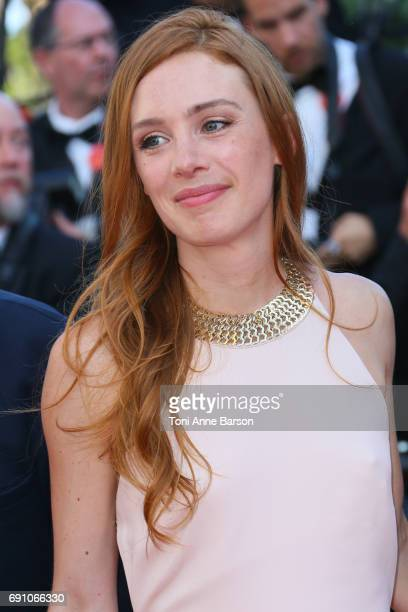 Leonor Serraille attends the Closing Ceremony during the 70th annual Cannes Film Festival at Palais des Festivals on May 28 2017 in Cannes France