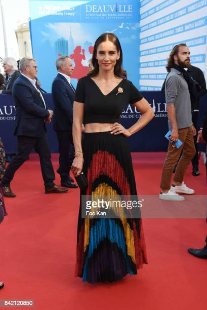 Leonor Varela attends the screening of 'Good Time' Premiere during the 43rd Deauville American Film Festival on September 2 2017 in Deauville France