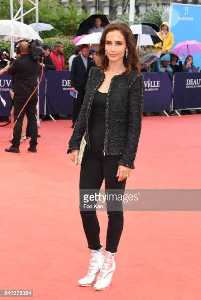 Leonor Varela attends the Tribute to Jeff Goldblum and 'Kidnap' Premiere during the 43rd Deauville American Film Festival on September 3 2017 in...