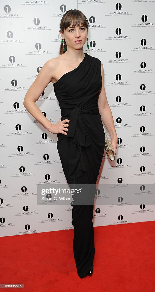 Leonor Watling attends as The Academy of Motion Picture Arts and Sciences honours director Pedro Almodovar at Curzon Soho on December 13, 2012 in London, England.