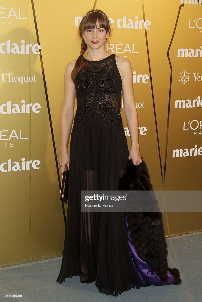 Leonor Watling attends 'Marie Claire Prix de la moda' awards 2013 photocall at Residence of France on November 21, 2013 in Madrid, Spain.
