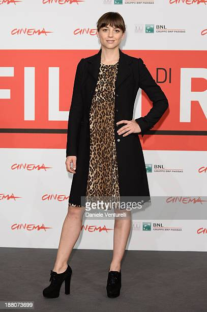 Leonor Watling attends the 'Another Me' Photocall during the 8th Rome Film Festival at the Auditorium Parco Della Musica on November 15 2013 in Rome...