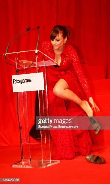Leonor Watling attends the Fotogramas Magazine cinema awards 2017 on March 06 2017 in Madrid Spain