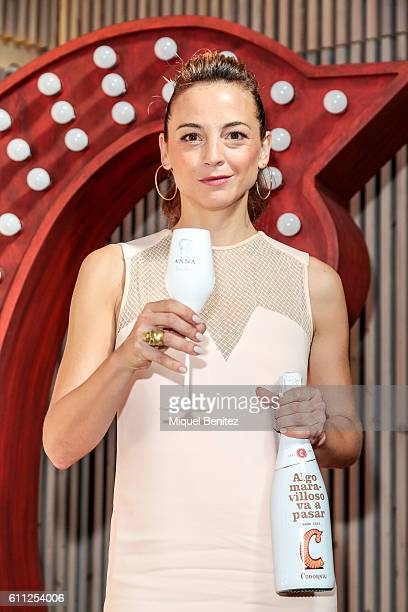 Leonor Watling attends the presentation of 'Algo Maravilloso va a pasar' 'Something Wonderful will Happen' as part of the new Codorniu campaign at...