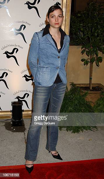 Leonor Watling during Global Vision For Peace Party at Talmadge Estate in Los Feliz California United States