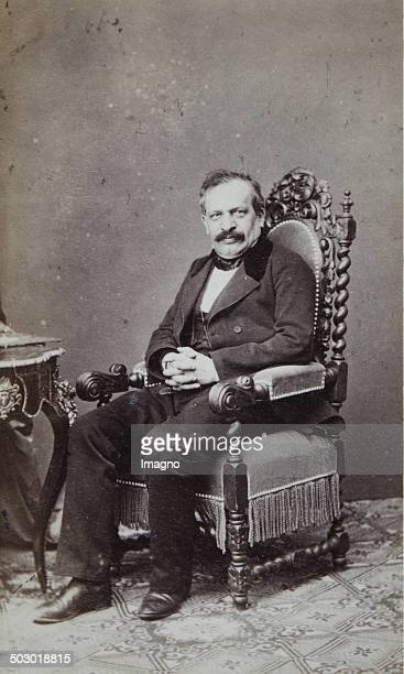 Leopold Freiherr von Neumann 18111888 an Austrian jurist constitutional and international law teacher and 1869 Member of the mansion Photograph by...