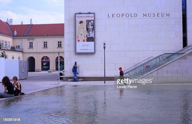 Leopold Museum at Museums Quartier, Innere Stadt.