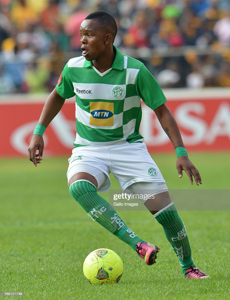 Lerato Manzini during the Absa Premiership match between Bloemfontein Celtic and Kaizer Chiefs at FNB Stadium on March 31, 2013 in Johannesburg, South Africa.