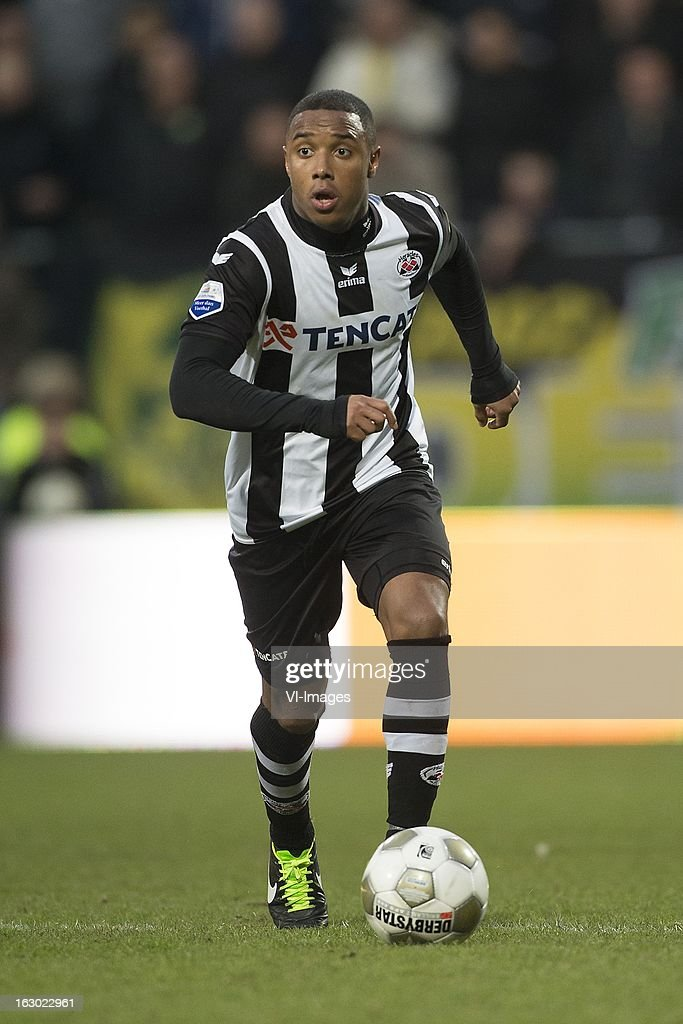 Lerin Duarte of Heracles Almelo during the Dutch Eredivisie match between ADO Den Haag and Heracles Almelo at the Kyocera Stadium on march 03, 2013 in The Hague, The Netherlands