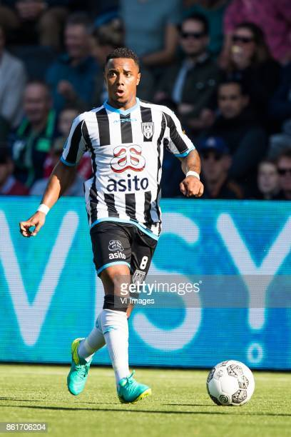 Lerin Duarte of Heracles Almelo during the Dutch Eredivisie match between Heracles Almelo and Vitesse Arnhem at Polman stadium on October 15 2017 in...