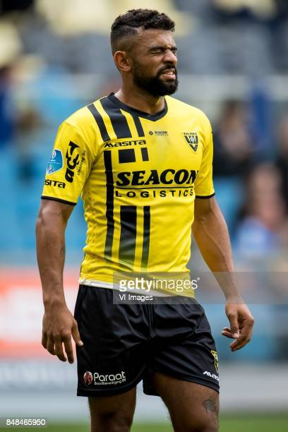 Leroy Labylle of VVV during the Dutch Eredivisie match between Vitesse Arnhem and VVV Venlo at Gelredome on September 17 2017 in Arnhem The...