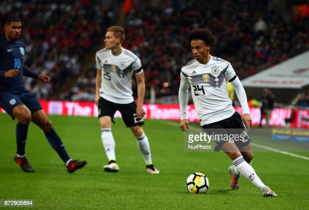 Leroy Sane of Germany during International Friendly match between England and Germany at Wembley stadium London on 10 Nov 2017 during International...