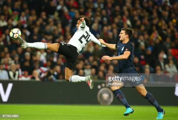 Leroy Sane of Germany during International Friendly match between England and Germany at Wembley stadium London on 10 Nov 2017