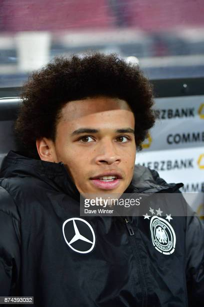 Leroy Sane of Germany during the international friendly match between Germany and France at RheinEnergieStadion on November 14 2017 in Cologne Germany