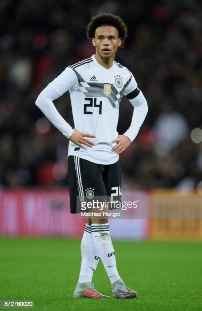 Leroy Sane of Germany seen during the International friendly match between England and Germany at Wembley Stadium on November 10 2017 in London...