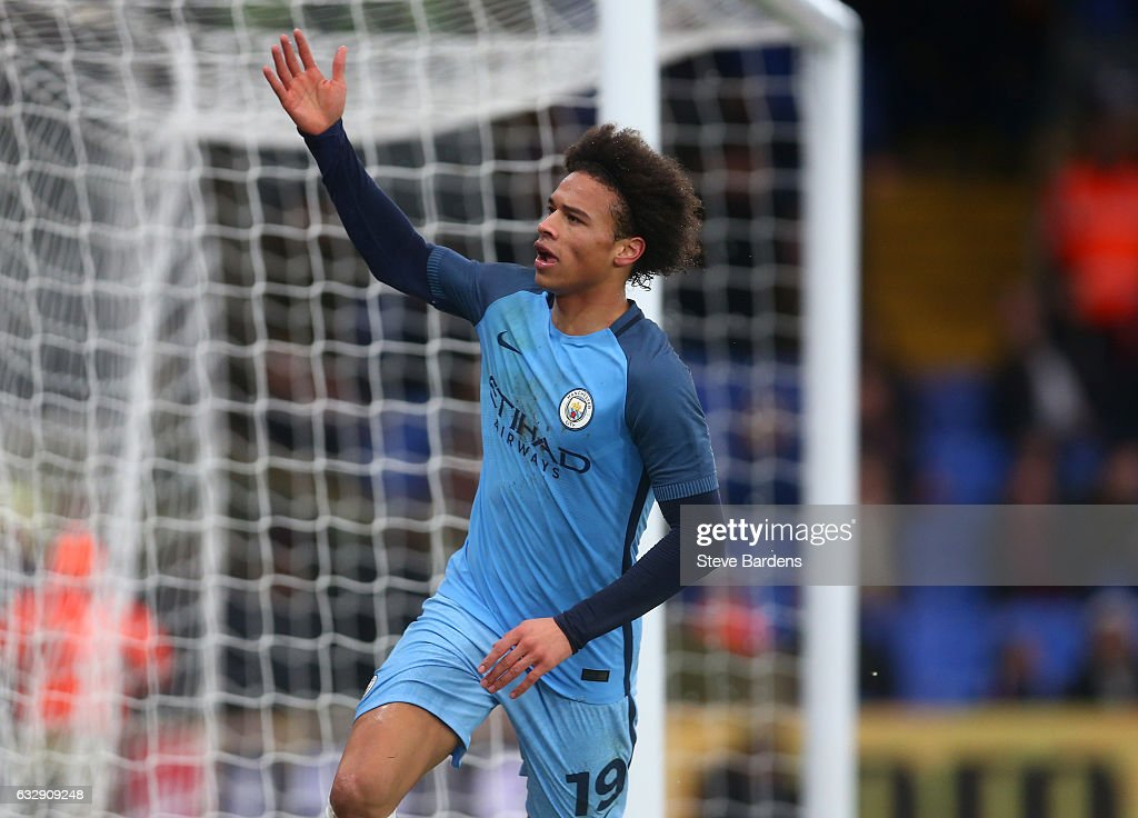 Crystal Palace v Manchester City - The Emirates FA Cup Fourth Round : News Photo